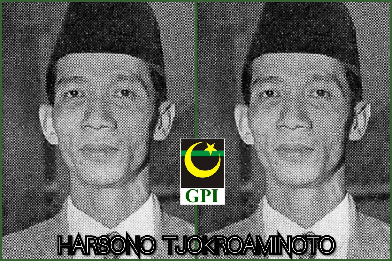 Harsono Tjokroaminoto Ketua Umum Pertama