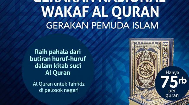 PROGRAM WAKAF AL-QUR'AN GPI-2