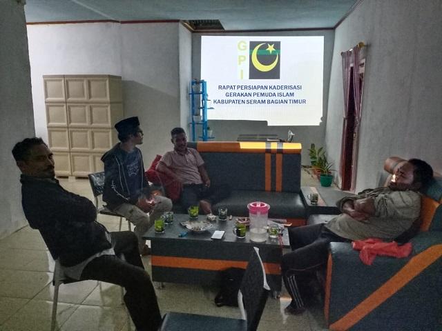 Rapat Panitia Persiapan Kaderisasi GPI PD SBT dan BURSEL