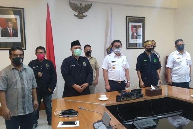 PANPEL MLB & Milad Ke-75 GPI Beraudiensi Dengan Wagub DKI Jakarta